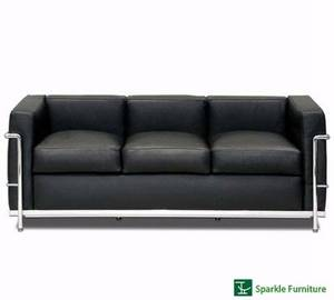 Wholesale grade a mid joint: Le Corbusier LC2  Sofa (3 Seater)