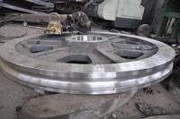 Steel Casting Pulley Wheels