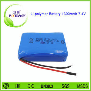 Wholesale ni mh power tool battery: Rechargeable 783448 Li-polymer Battery 7.4v 1300mah for Power Tools