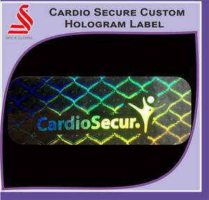 Wholesale custom labels: Self Adhesive Holographic Custom Security Labels Stickers