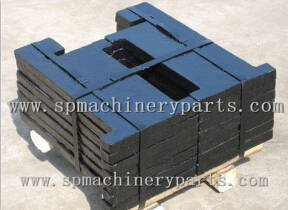 Wholesale elevator part: China Factory Hot Sell Hight Quality Iron Cast Counter Weight in Elevator Parts