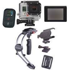 Wholesale camera: HERO 3 Black Edition Camera with LCD Touch BacPac and Smoothee Kit
