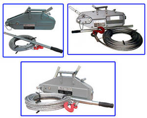 Wholesale Hoists: Wire Rope Pulling Hoist Application and Structure