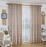 Jacquard Window Curtain Panel in 100% Polyester