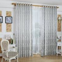 100% Polyester Window Panel Jacquard Curtain