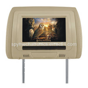 Wholesale portable dvd player: 7 Inch Portable Headrest Car DVD CD Player with TFT LCD Monitor