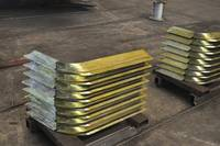 Cutted Metal Plates for Welding