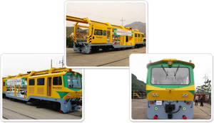Wholesale Train Parts: B2S(Ballasted To Slab) Track Machine