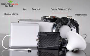 Wholesale phone: Cell Phone Signal Booster Double Band GSM900 Singal Booster DCS1800 Singal Booster