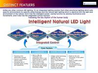 Intelligent Natural LED Lamp Light