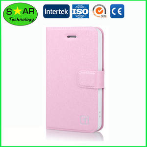 Wholesale wallets: PU Leather Wallet Flip Mobile Phone Case for Mobile Phone
