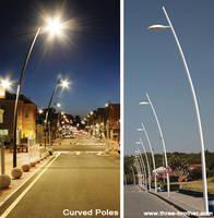 Curved Light Pole
