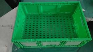Wholesale Transport Packaging: Hot Sale Plastic Foldable Crate