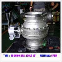 Trunion Ball Valve