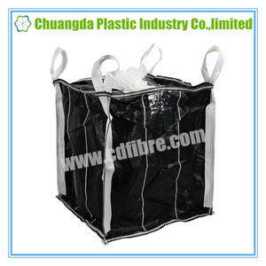 Wholesale fabric woven labels: Big FIBC Bulk Bag Baffle Ton Bag for Packing Chemicals