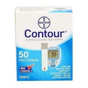 Wholesale glucose test strips: Bayer Contour Blood Glucose Test Strips 50 Ct