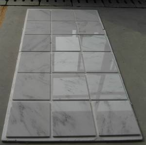 Wholesale bathroom telephone: Starry Star Chinese White Marble Tiles Slabs