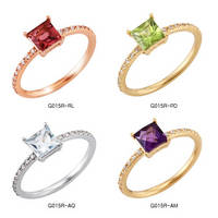 Sell Gold Gemstone Fashion Jewelry Rings