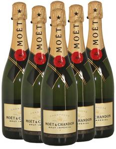 Wholesale champagne: Moet and Chandon Champagne and Other Champagne Brands