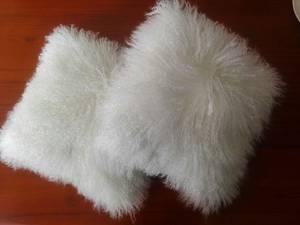 Wholesale Cushion: Wholesale Tibetan Mongolian Sheepskin Fur Cushion Covers