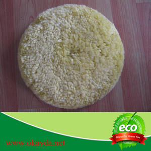 Wholesale Car Care Products: Wholesale 100% Sheep Wool Polishing Pad