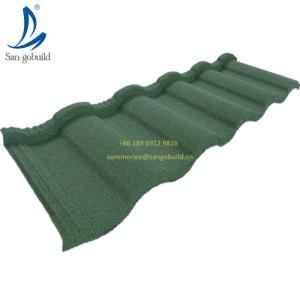 Wholesale fiber cement roof tile: Hot Sale in Area Market New Building Material Sand Coated Metal Roofing Factory Price