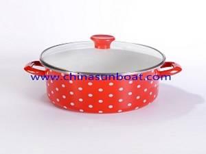 Wholesale Soup & Stock Pots: Enamel Stockpot