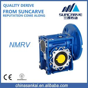 Wholesale speed reducer: High Torque Low Noise Worm Gearbox Speed Reducer Single Stage NMRV Series