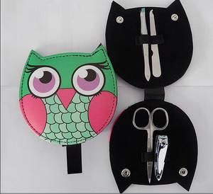 Wholesale manicure: Owl Shape Manicure Set