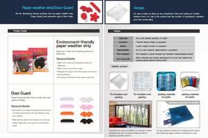 Wholesale Other Door & Window Accessories: Air-Cap for Insulation, Paper Weather Strip, Door Guard