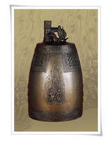 Temple bell (buddhism, religious craft)