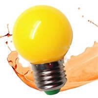 Sell christmas tree decoration E27 B22 led color bulbs 1Watt G45 global bulb