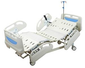 Wholesale electric bed: Three Function Medical Electric Home Care Nursing Hospital Bed Guangzhou Manufacturer