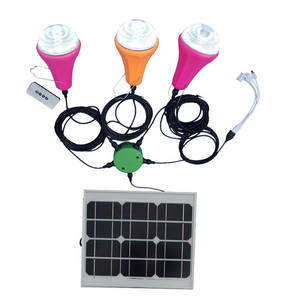 Wholesale Solar Energy Systems: Wholesale Solar Home Lighting Kit with USB Charger