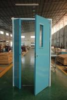 Steel Fire-rate/Fire-proof Door Exterior/Extrance Fire Door