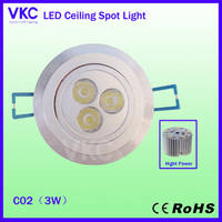 Sell 3w led downlight(ceiling light) for sale