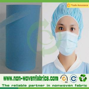 Wholesale sanitary face mask: PP Non Woven Fabric for Medical Used