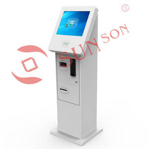 Wholesale rfid card reader: Campus Coin and Bill Payment Kiosk with RFID Card Reader