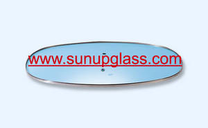 Wholesale Cookware: Oval Shape Tempered Glass Lid for Cookware