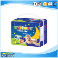 Sell  cheap high absorption disposable unisoft baby diaper