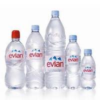 Mineral Spring Water,Evian Water - 500ml,Evian Natural Mineral Water