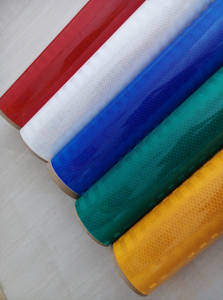 Wholesale reflective material: China Factory 3M High Intensity Prisamtic Reflective Film Material