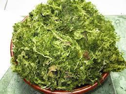 Wholesale dried seaweed: Dried Green Seaweed