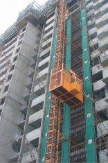 Wholesale elevator part: Material Lift Construction Hoist Elevator With Schneider, LG Electric Parts