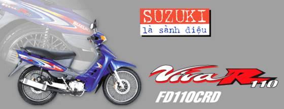 motorcycle SUZUKI Viva 110CRD