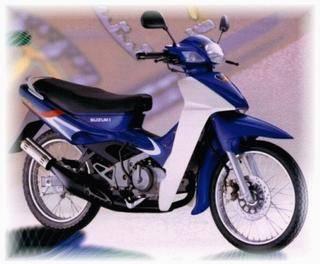 motorcycle SUZUKI RGV 120