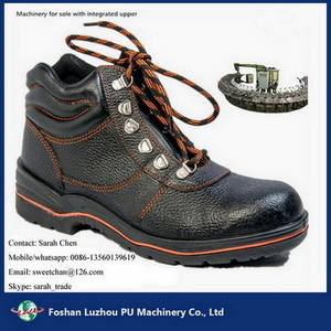 Wholesale boots: 24 Mold Stations Safety Boots Injection Foaming Production Line