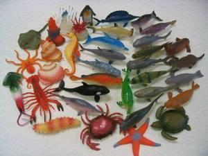 Wholesale toys: Plastic Sea Animal Toys