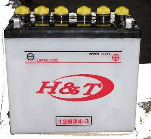 Wholesale Other Motorcycle Parts: 12N24-3 12V 24Ah Battery