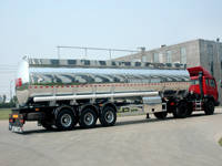 High Quality Aluminum Alloy Oil Tanker Semi Trailers